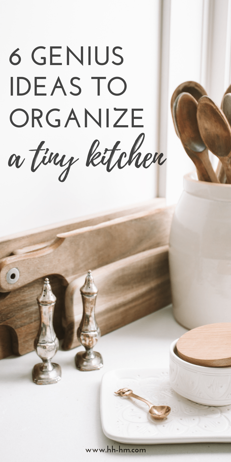 Declutter and organise your small kitchen with these genius home organization ideas great to organize