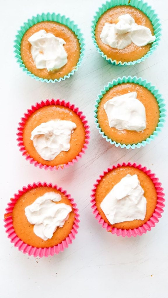Not pretty, but tasty and healthy pumpkin oatmeal muffins with cream cheese on top! A great dessert or breakfast pumpkin recipe!