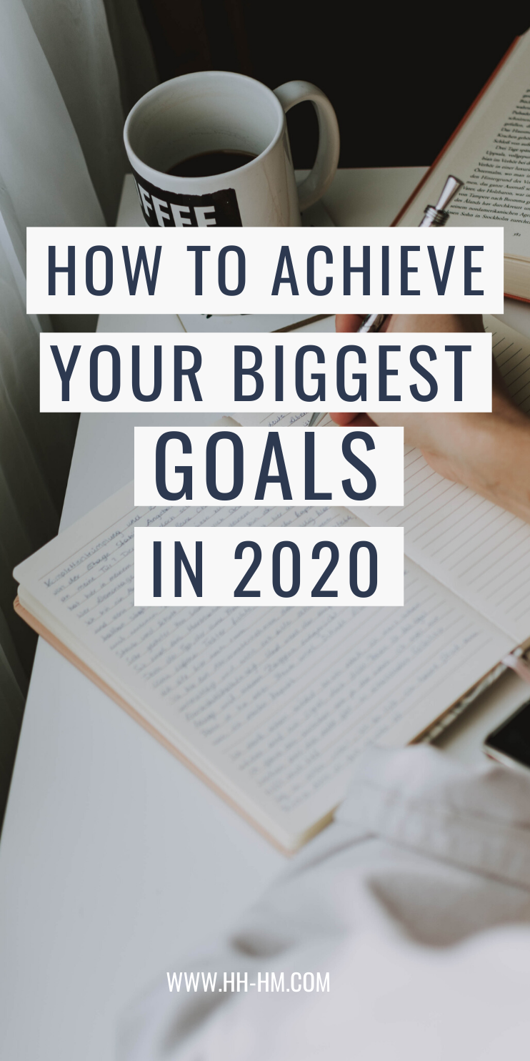 How to achieve your biggest goals and dreams this year! Start the healthy habits that will improve your life and create routines that work for you! How to make a plan and actually get results - this process has worked for me!