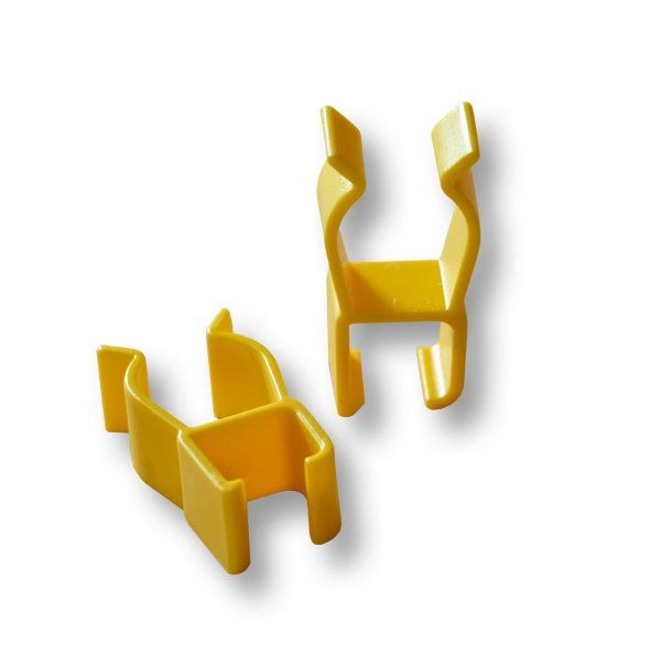 Helping Hand Stick clips for Classic Reacher range and Shoe helper. Handy device to attach your Reacher onto your wheelchair, walking frame or walking stick. HX15151R