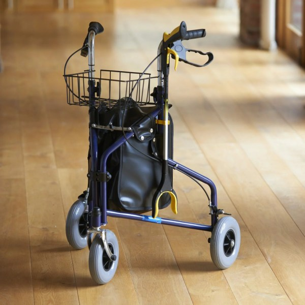 Attach your reacher/grabber to a chair leg, walking stick, wheelchair, crutch, rollator or walking frame using a handy stick clip, HX15153