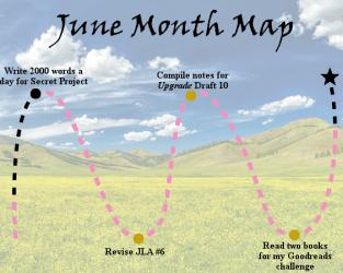Lieutenant Junior Grade's Log, Entry 27: June Month Map and Progress