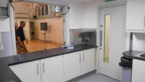 LLANGARRON, St Deinst Kitchen