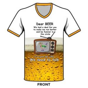 Dear Beer Hash Shirt