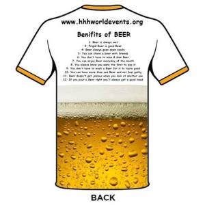 Beer Helping Ugly Hashers Shirt