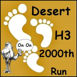 Desert H3 2000th Run
