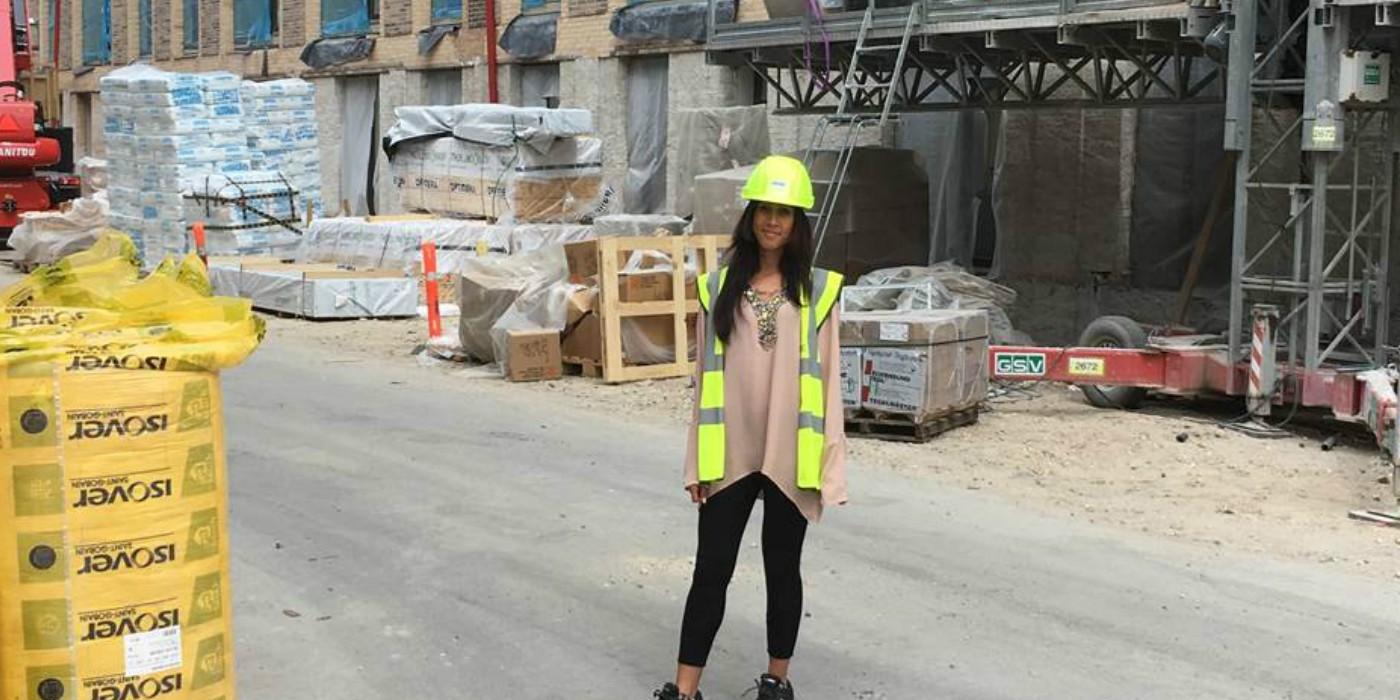 Praktikant fra DTU, diplomingeniør får byggepladserfaring