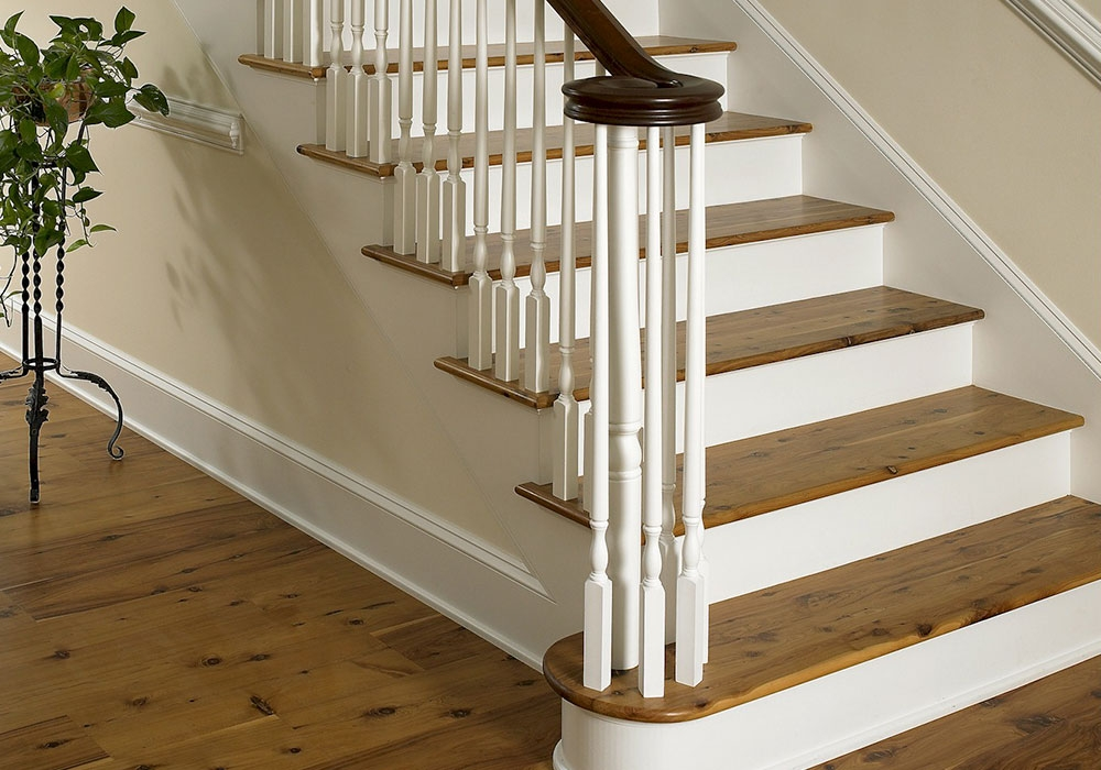 Heister House Millworks Stair Parts | Craftsman Style Newel Post | Design | Staircase | Railing | Square | Interior