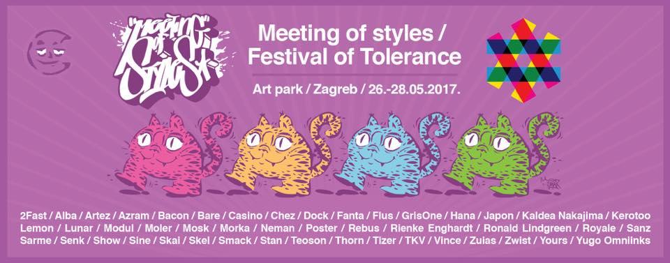 Meeting of styles @ Art Park Zagreb 26.5.