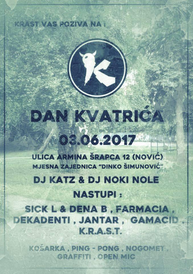 KRAST Hip Hop Jam (Dan Kvatrića) @ Nović 3.6.2017.