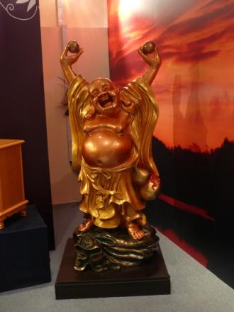Drunk / happy / stoned Buddha