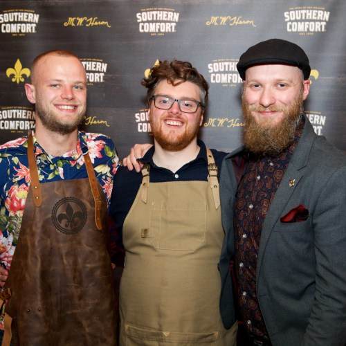 People's Champion Scott Addison; Southern Showdown 2019 winner Adam Day; and Global Southern Showdown 2018 Winner Lee Jones