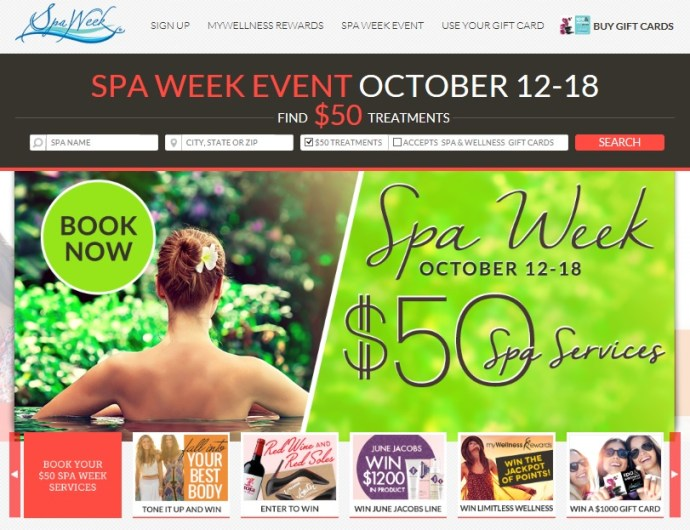 National Spa Week