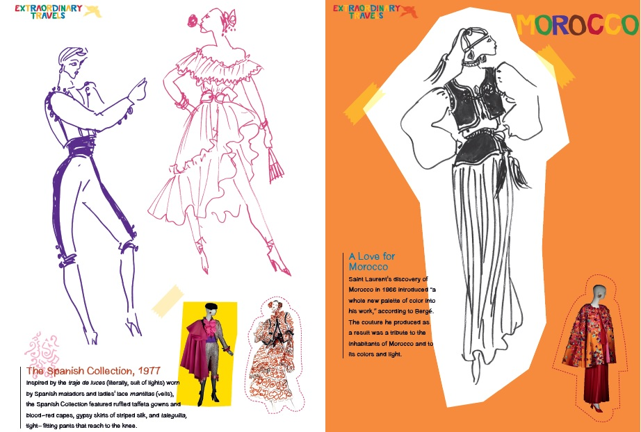 Press Release New Art Fashion Coloring Books From Yves Saint Laurent And Jean Cocteau Hi