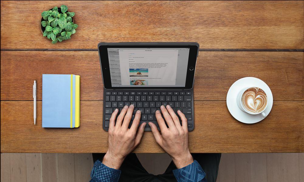 Logitech Announces New Keyboard Case for iPad   Hi-tech Chic
