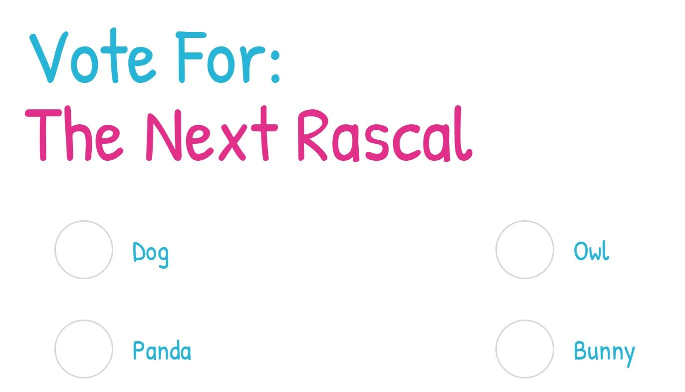 Snuggly Rascal Vote