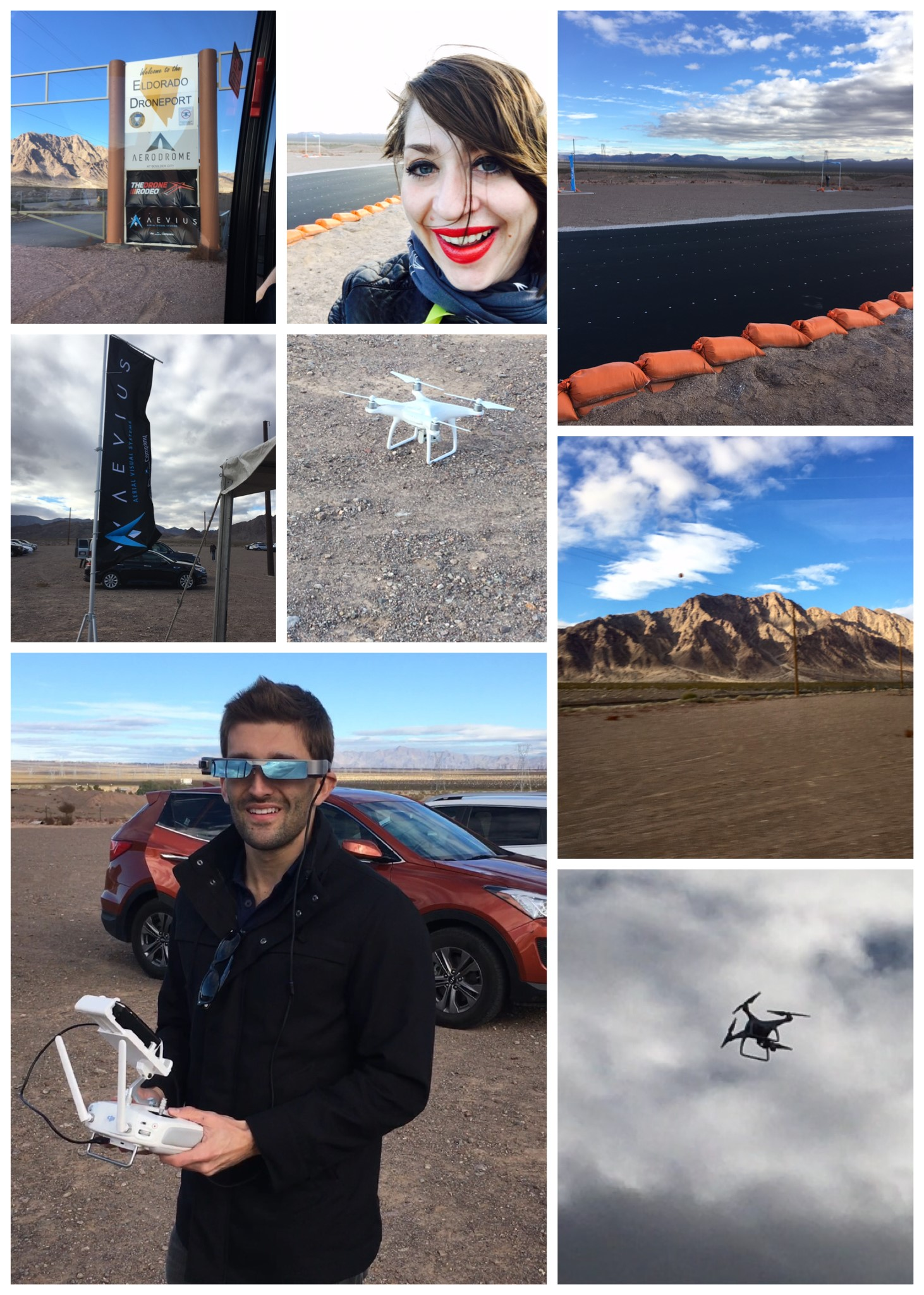 Drone Rodeo collage
