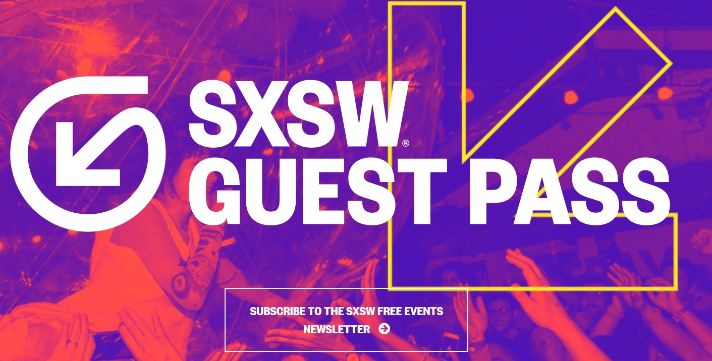 SXSW 2018 Guest