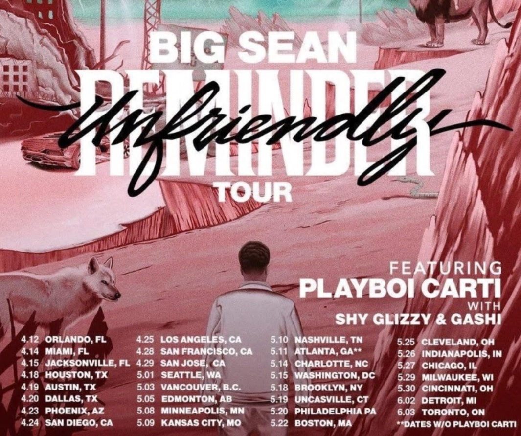 News atx big sean announces dates for the unfriendly reminder tour fandeluxe