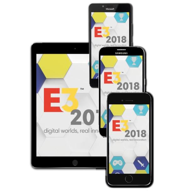 E3 mobile app