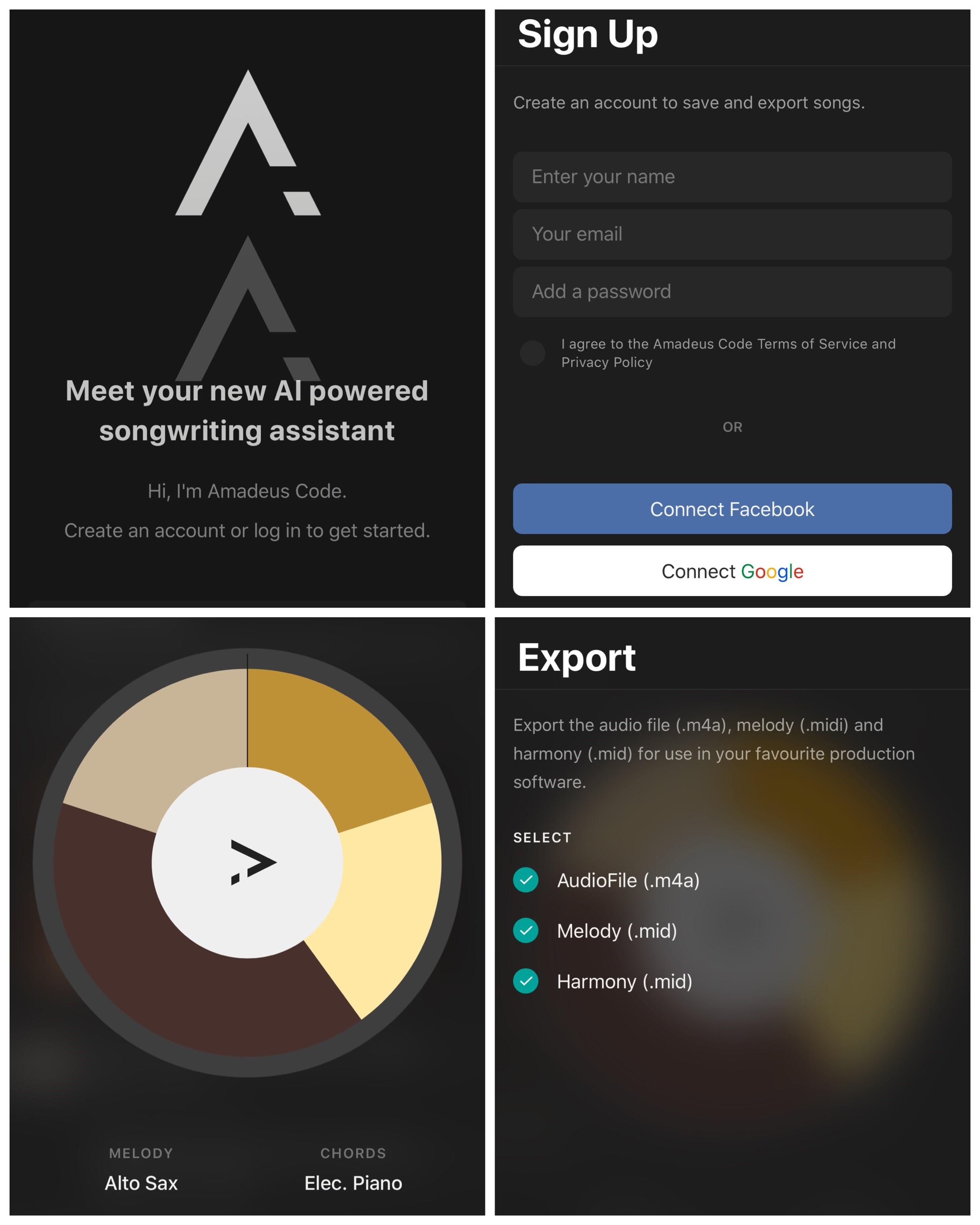 Amadeous App Nina 2018