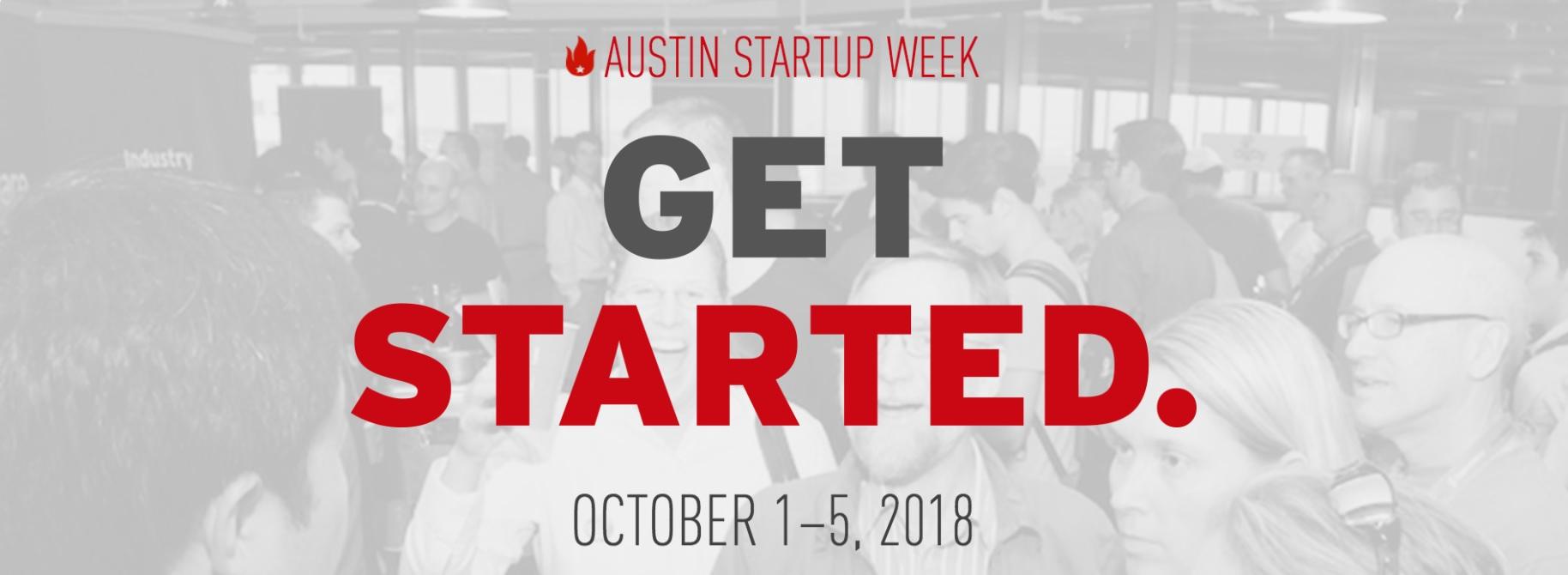 Austin Startup Week 2018 title