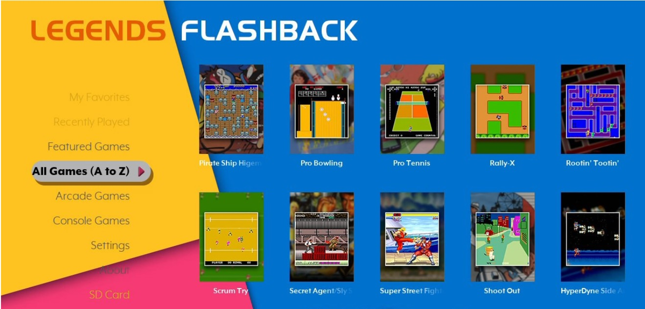 Legends Flash Back Dashboard