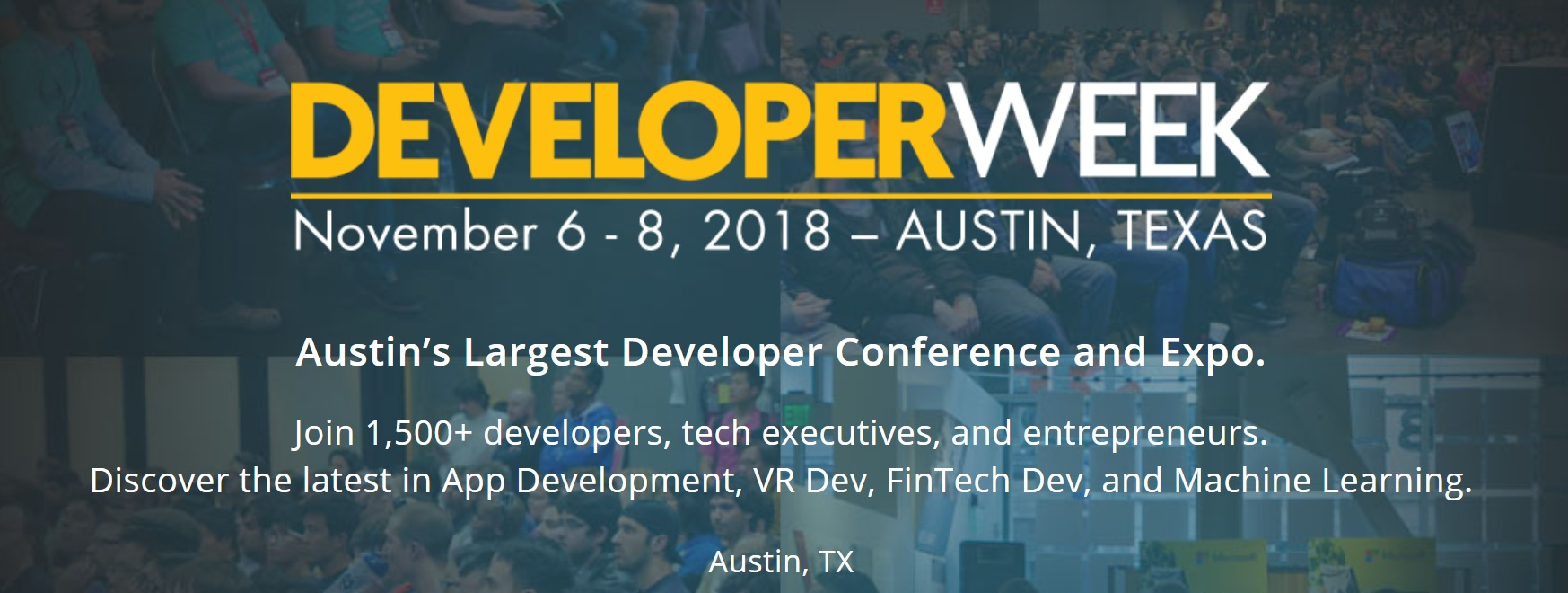 Austin Developers Week 2018