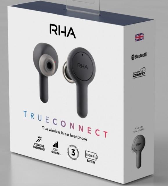 RHA Earbuds Box