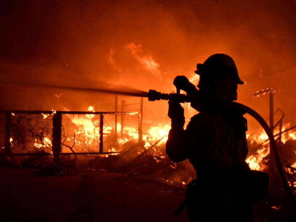 California Wild fires Global Giving Fund