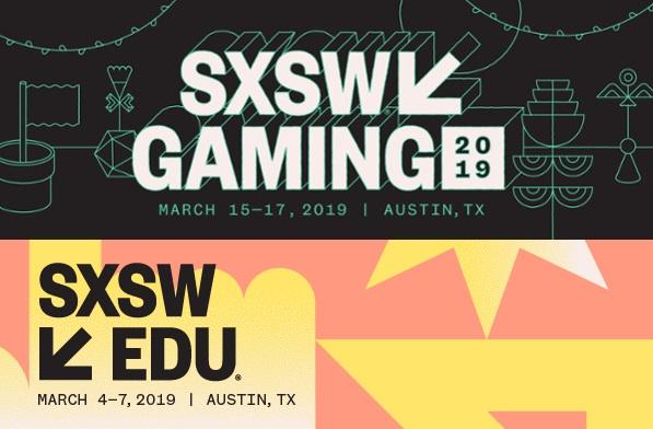 SXSW 2019 gaming EDU logo