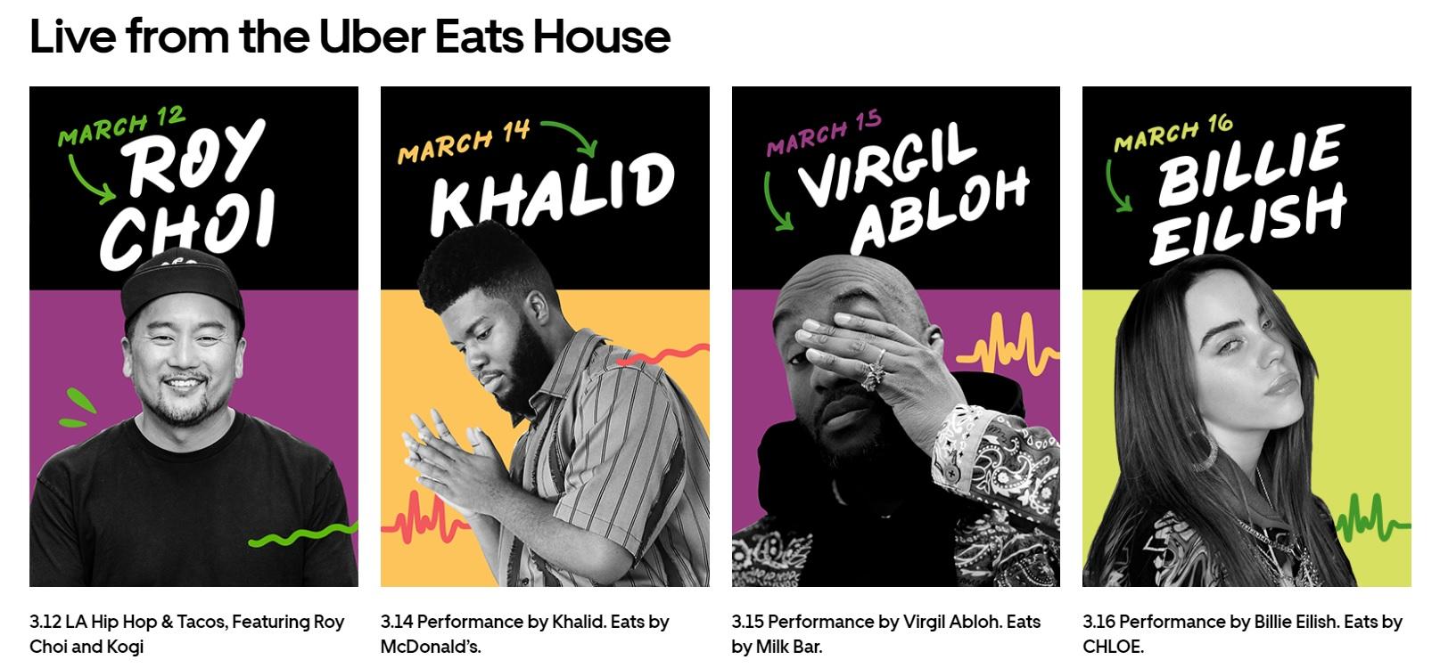 SXSW 2019 LIVE from Uber Eats Artist