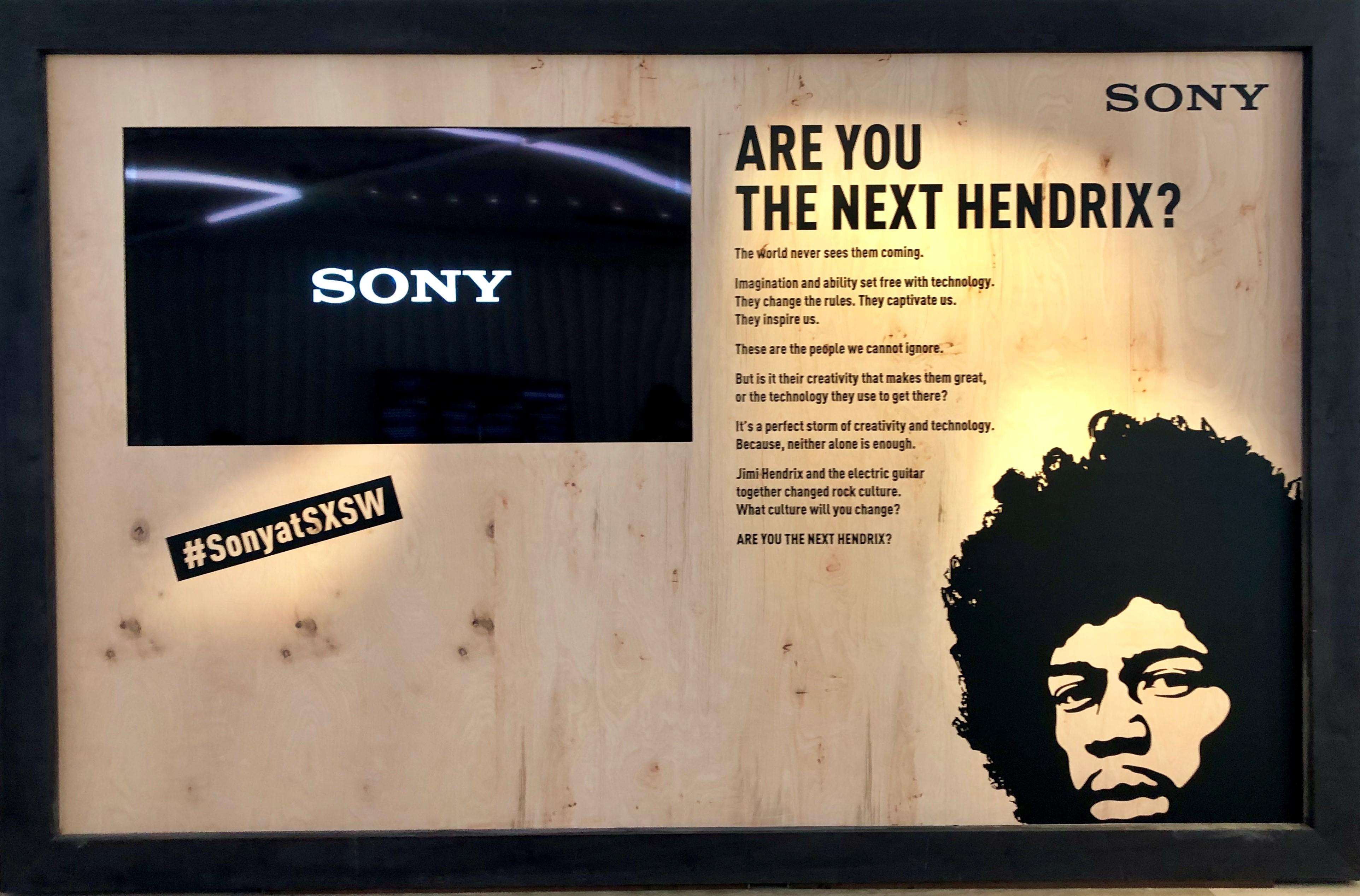 Sony SXSW 2019 Title