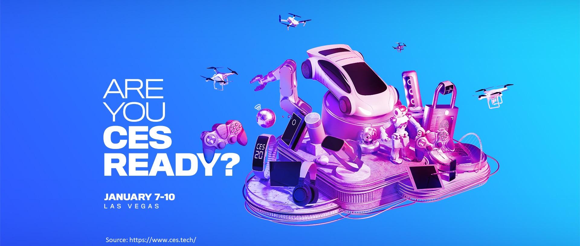 CES 2020 LOGO Site