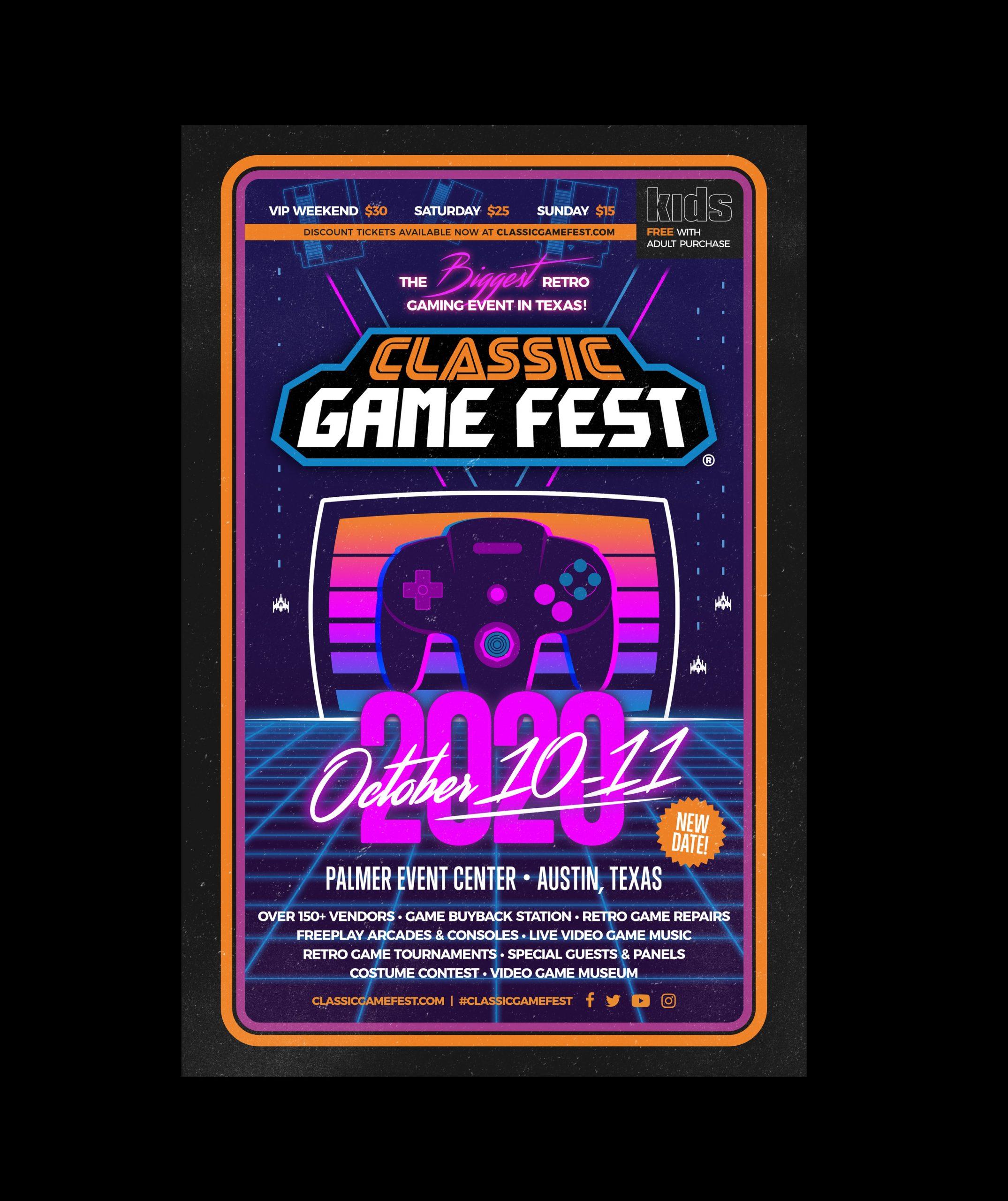 Classic Game Fest Borders