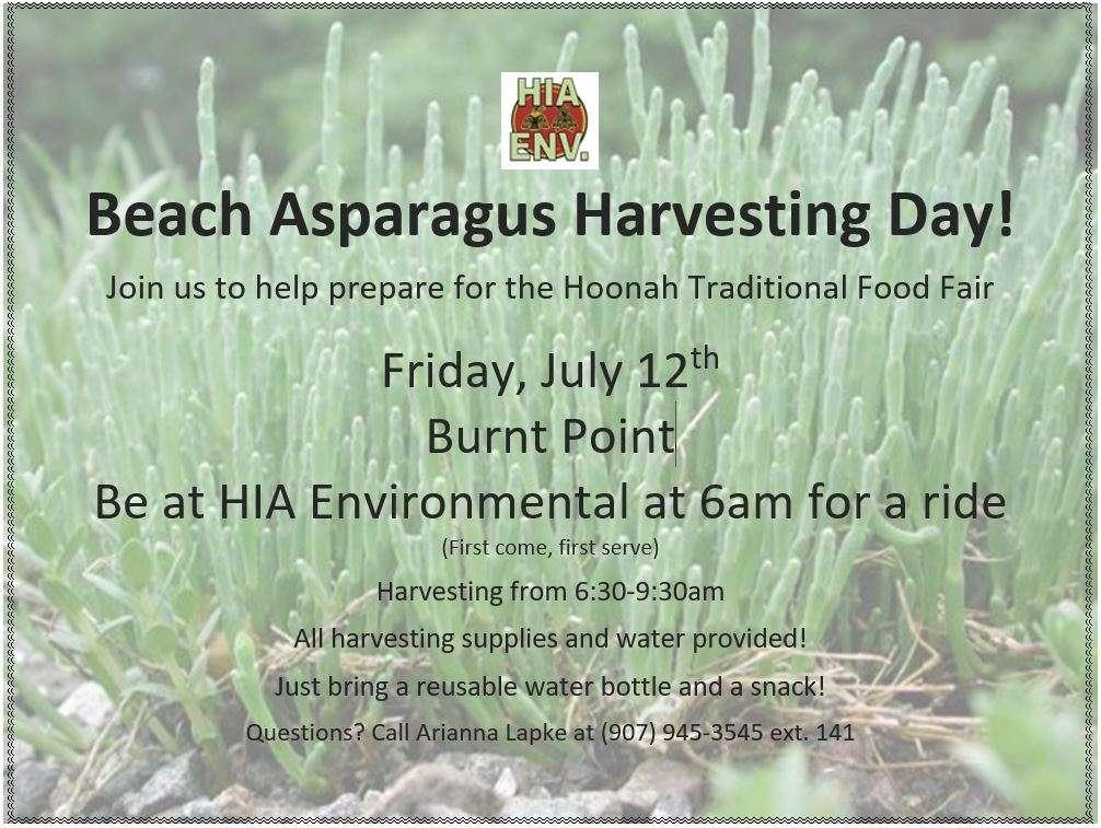 beach asparagus flyer