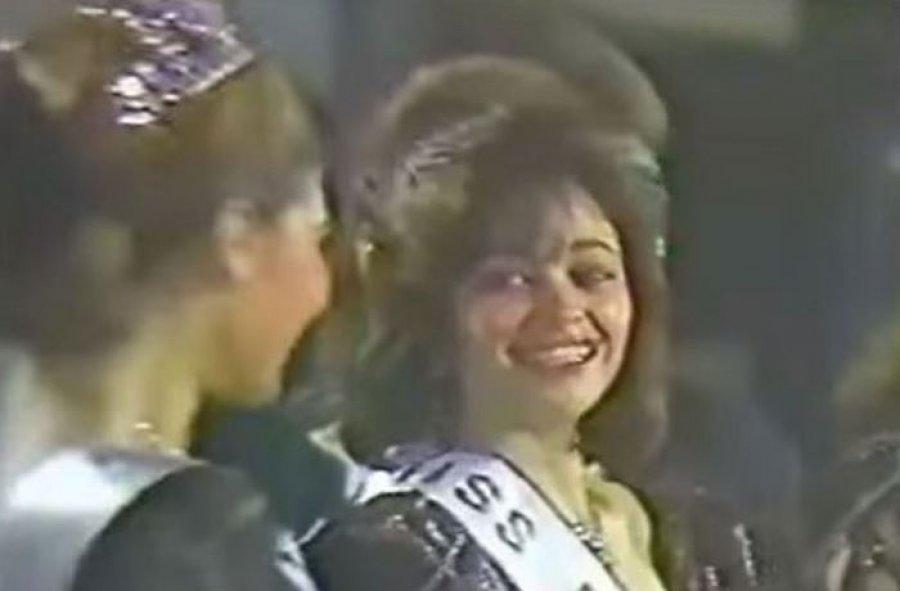داليا البحيري في مسابقة ملكة جمال مصر