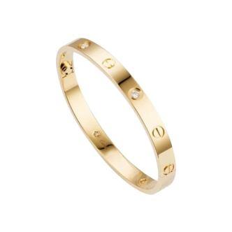 سوار LOVE BRACELET 4 DIAMONDS من Cartier