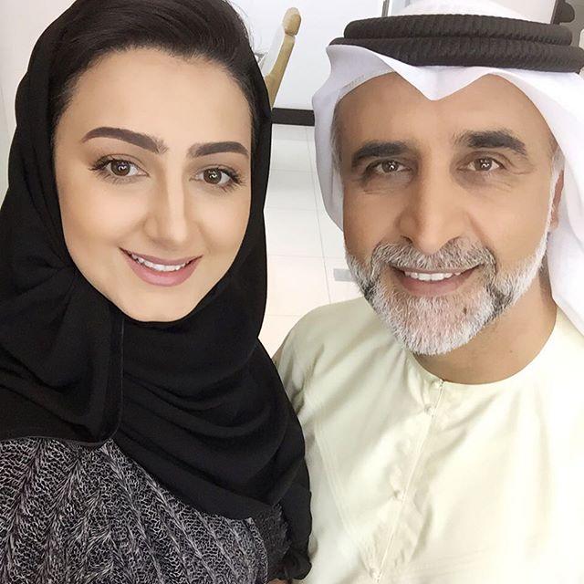 الفنان حبيب غلوم وزوجته الفنانة هيفاء حسين