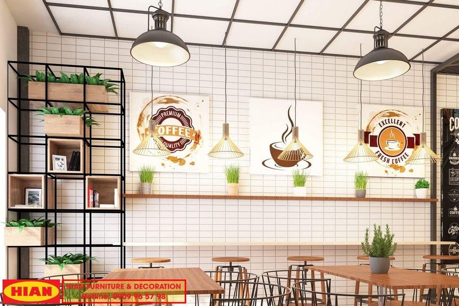 Thiết Kế Quán Cafe Vstar