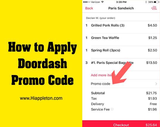 doordash gift card promo code