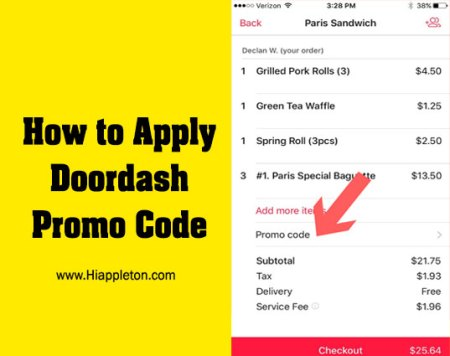 How to Apply Doordash Promo Code