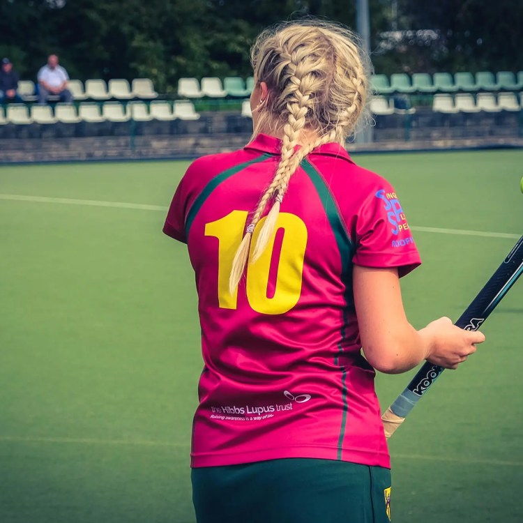 Cannock Ladies Hockey Club Supports The Hibbs Lupus Trust