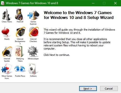 Cómo recuperar los juegos clásicos de Windows 7 en Windows 10