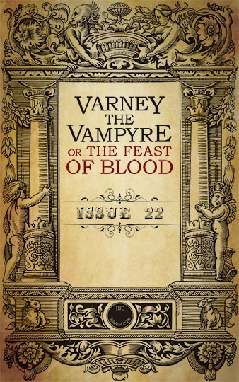 Varney the Vampyre - issue 22