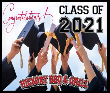 hickory BBQ graduations