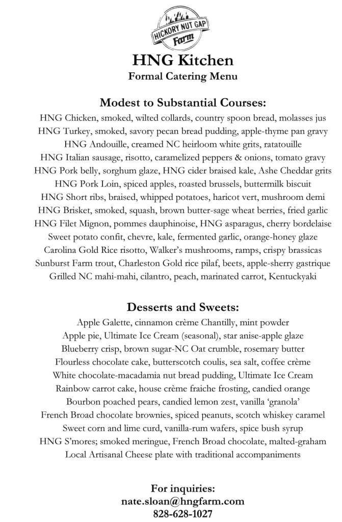 Microsoft Word - Formal Catering Menu.docx