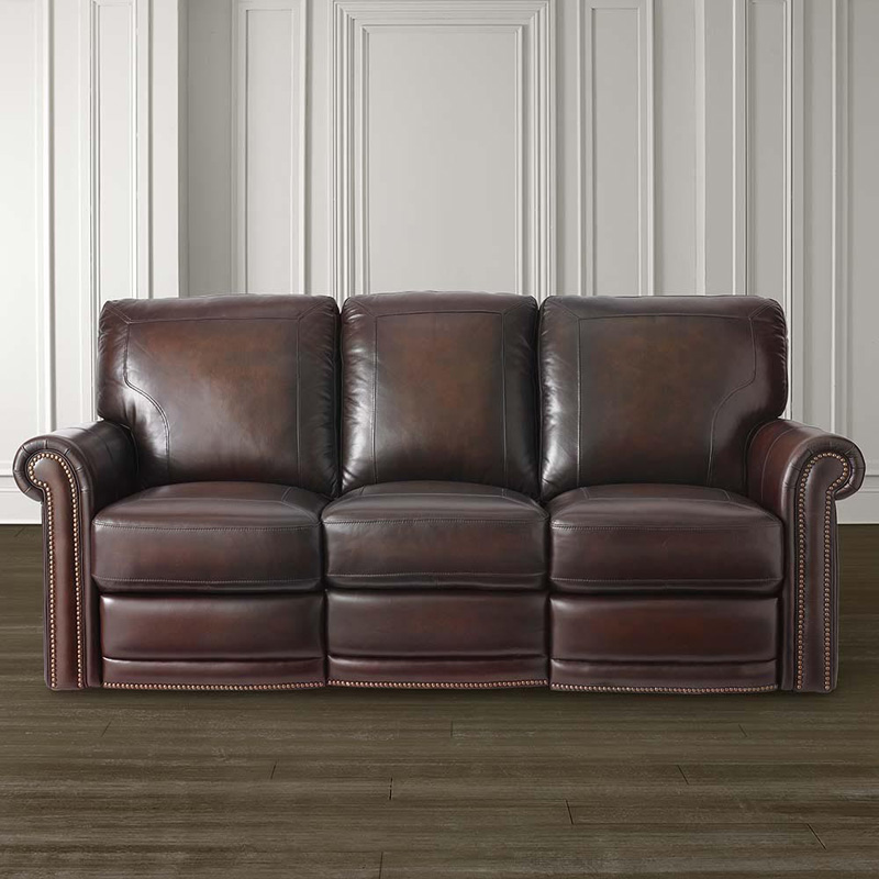 Bassett 3958 62MLS Hamilton Motion Sofa Discount Furniture