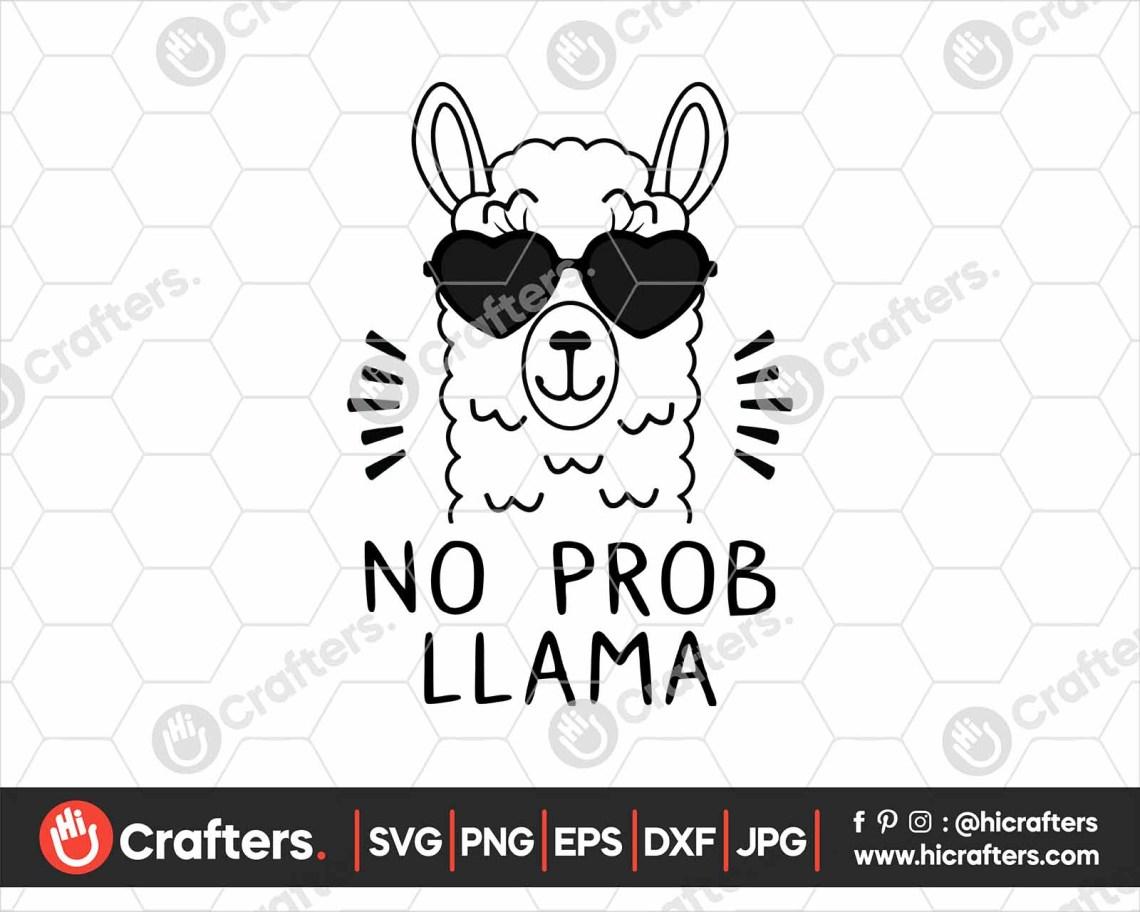 Download Free Llama Svg Cut File