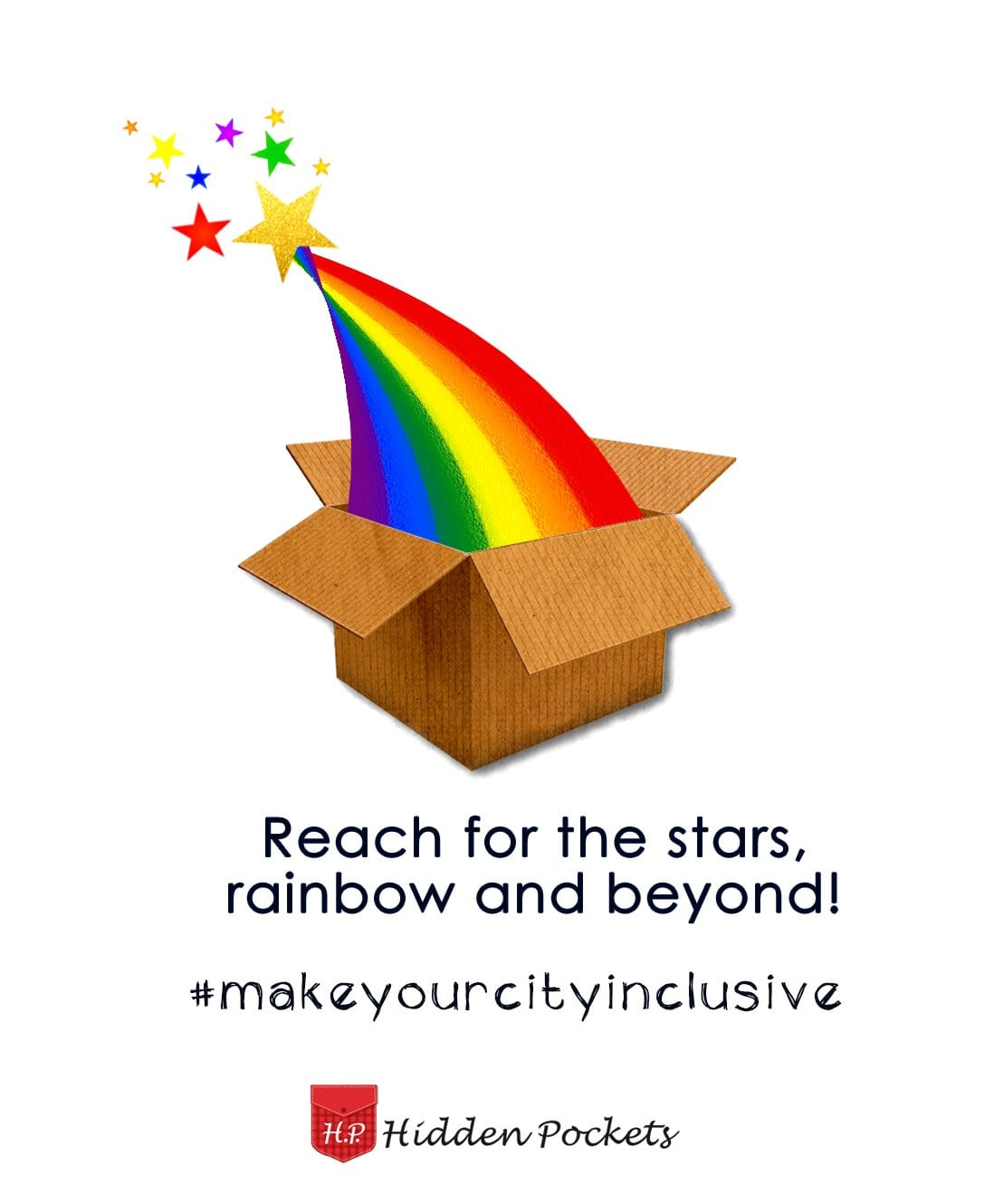 Reach for the stars, rainbow and beyond! #makeyourcityinclusive goes to Kochi